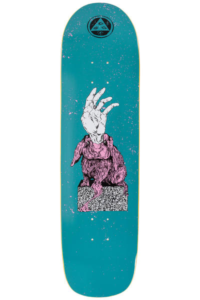 "Welcome Magic Bunny 8.38"" Tabla (dark teal)"