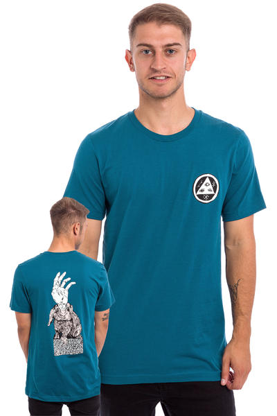 Welcome Magic Bunny Camiseta (dark teal)