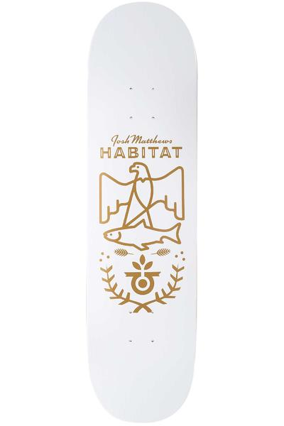 "Habitat Matthews Gold Seal 8.25"" Deck (white)"