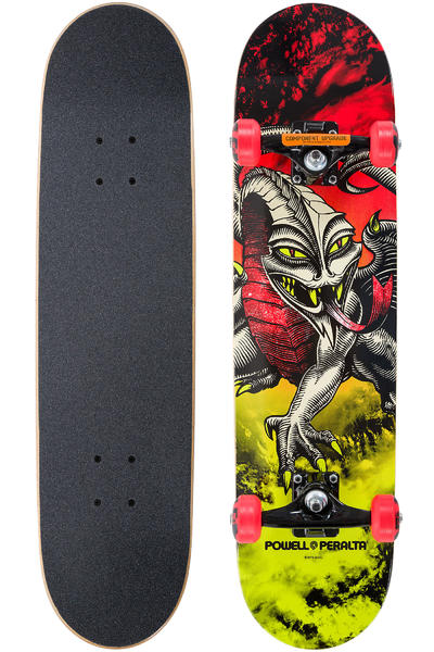 "Powell-Peralta Cab Dragon Storm 7.75"" Komplettboard (red lime)"