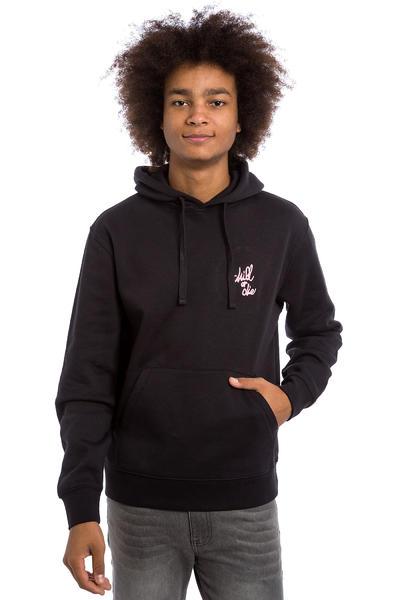 CHILL OR DIE OG Logo Broderie Hoodie (black pink)