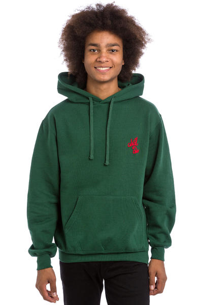 CHILL OR DIE OG Logo Broderie Hoodie (green red)