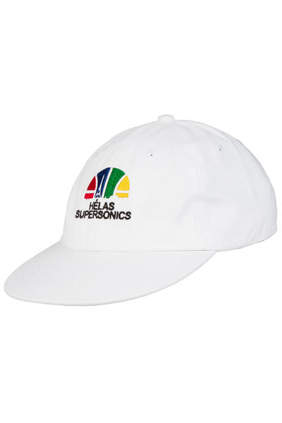 Hélas Supersonics 6 Panel Cap (white)