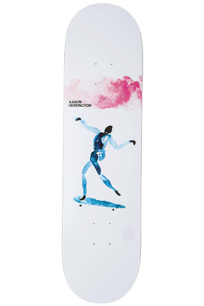 "Polar Skateboards Herrington Keep It Simple 8.25"" Deck (white)"