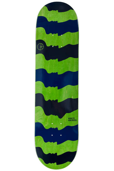 "Polar Skateboards Halberg Some Noses Are Bigger Than Others 8.125"" Deck (black blue)"