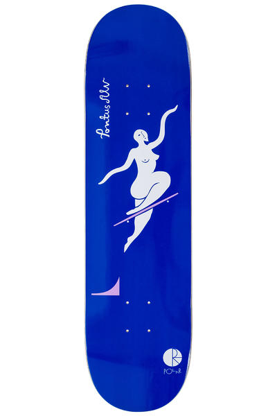 "Polar Skateboards Alv No Complies Forever 8.25"" Deck (navy)"