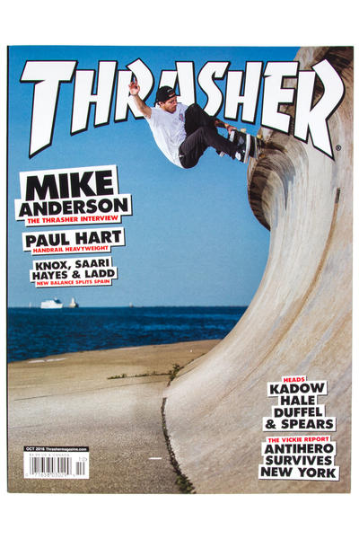 Thrasher Oktober 2016 Revista