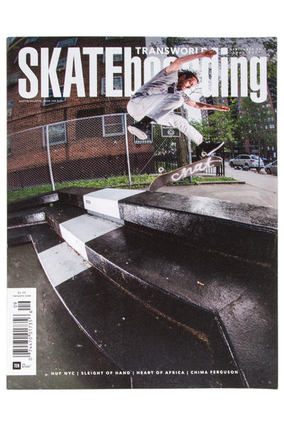 Transworld September 2016 Magazin