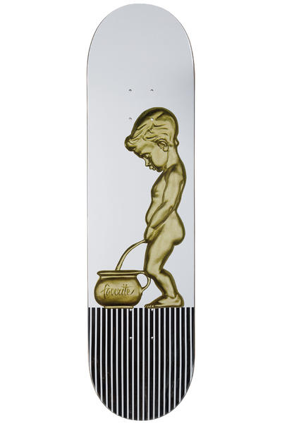 "Favorite Little Boy 8.5"" Deck (gold white)"