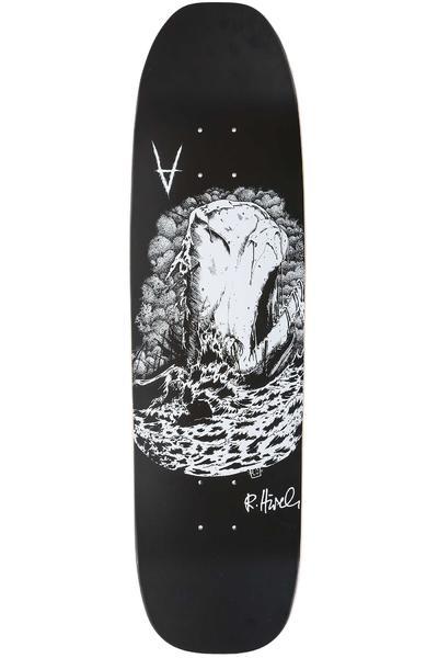 """Antiz Skateboards Hirsch Ghost Mist Seas 8.5"""" Deck (black white)"""