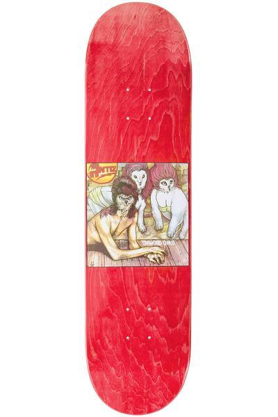 """Antiz Skateboards Music Series Bowie 8.05"""" Deck (red)"""