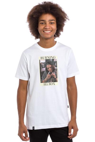 Wasted Burning Youth Camiseta (white)
