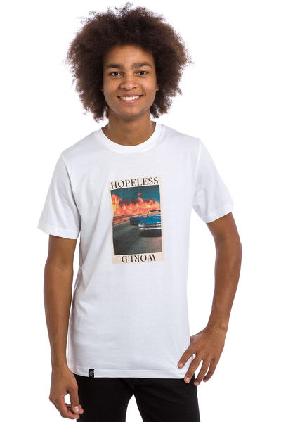 Wasted Hopeless World T-Shirt (white)