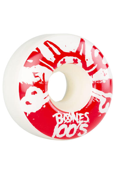 Bones 100's-OG #15 51mm Rollen (white red) 4er Pack