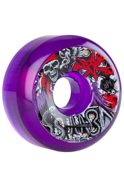 Bones SPF Staab Ghost Pirate 58mm Rollen (clear purple) 4er Pack