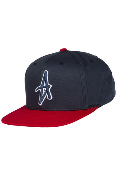 Altamont Decades Snapback Cap (navy red)