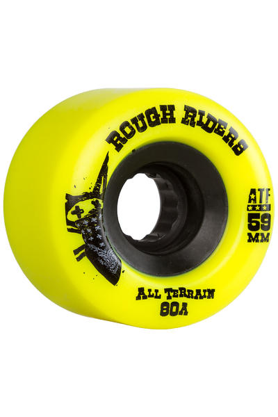 Bones ATFormula Rough Rider 59mm Rollen (yellow) 4er Pack