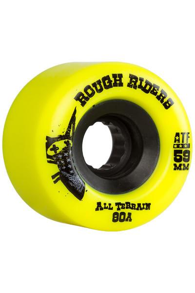Bones ATFormula Rough Rider 59mm Wheel (yellow) 4 Pack