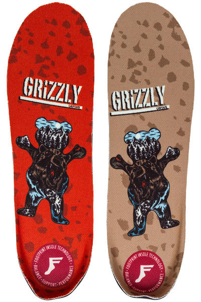 Footprint x Grizzly King Foam Elite Insole