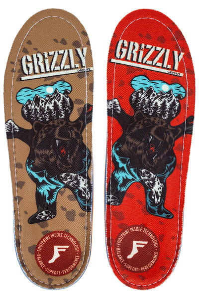 Footprint x Grizzly King Foam Orthotics Insole (multi)