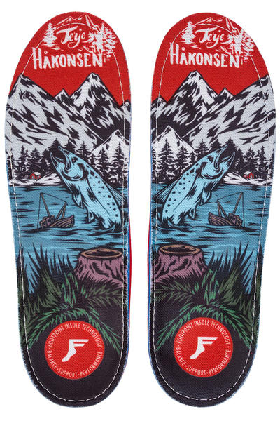 Footprint Haakonsen Salmon Gamechangers Insole (multi)