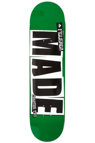 """Baker x Emerica Figgy Made Chapter Two 8"""" Deck (green)"""