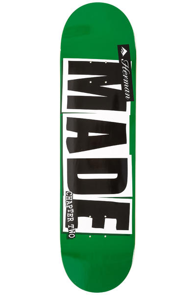 """Baker x Emerica Herman Made Chapter Two 8.25"""" Deck (green)"""