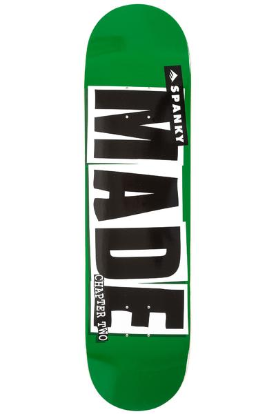 """Baker x Emerica Spanky Made Chapter Two 8.125"""" Deck (green)"""