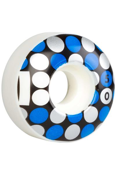 Plan B Team Dots 50mm Rollen (white) 4er Pack