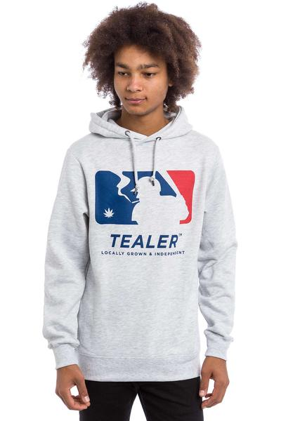Tealer Home Run Hoodie (heather grey)
