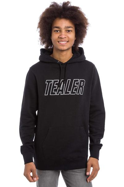 Tealer Logobox sweat à capuche (reflective black)