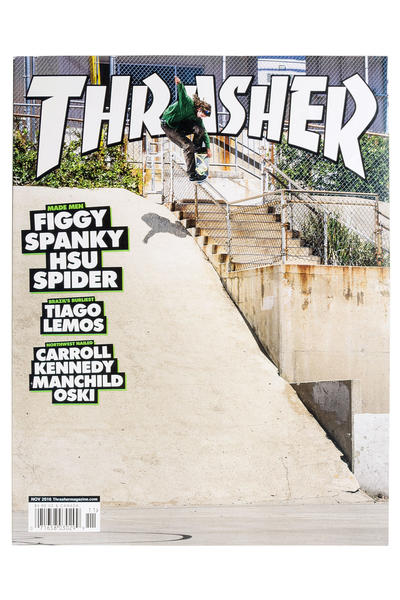 Thrasher November 2016 Revista