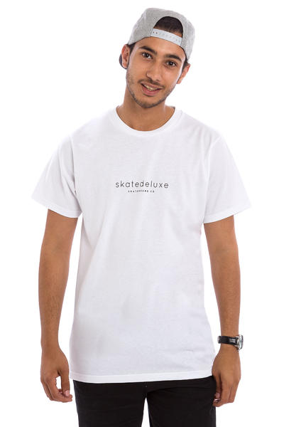 SK8DLX Modest T-Shirt (all white)