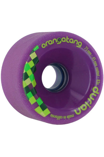 Orangatang Durian 75mm 83A Rollen (purple) 4er Pack