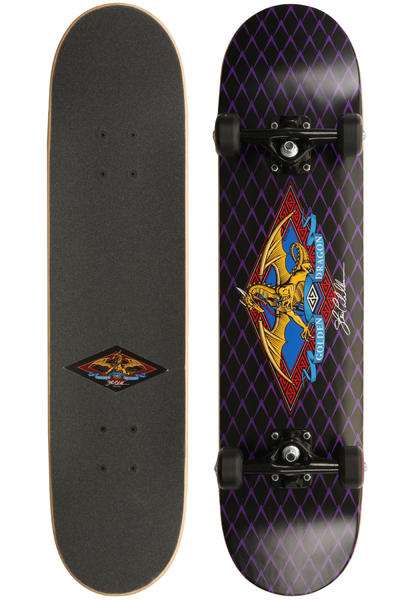 "Powell-Peralta Golden-Dragon PGD-Logo-Dragon-2 7.625"" Komplettboard (black)"