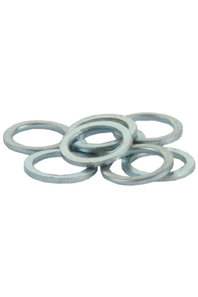 SK8DLX Standard 8mm Speedrings (silver) 8er Pack