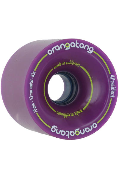 Orangatang 4President 70mm 83A Rollen (purple) 4er Pack