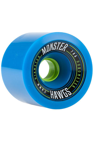 Hawgs Monster 76mm 78A Roue 2016 (blue) 4 Pack