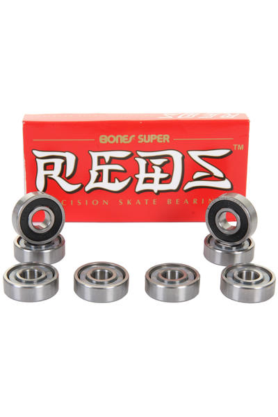 Bones Bearings Super Reds Kugellager (black)