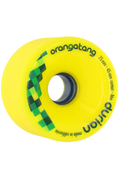 Orangatang Durian 75mm 86A Rollen (yellow) 4er Pack