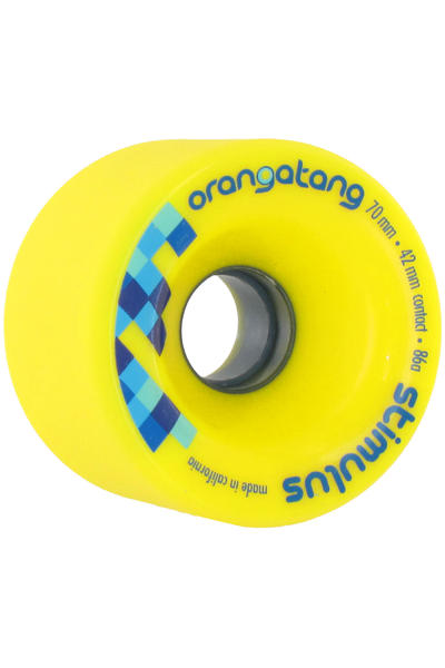 Orangatang Stimulus 70mm 86A Wheel (yellow) 4 Pack
