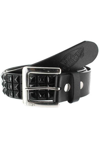 Vans Studded Leather Gürtel (black black)