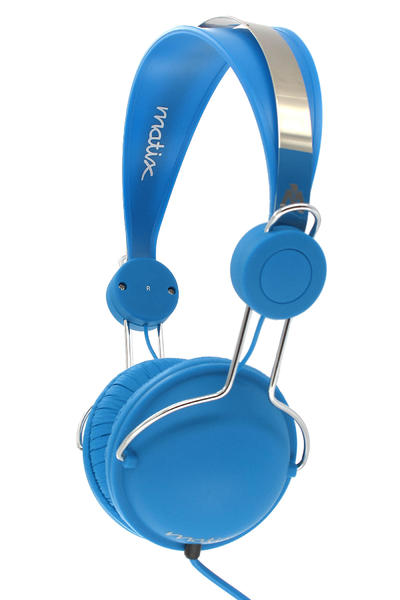 Matix Domepiece Headphones (blue)