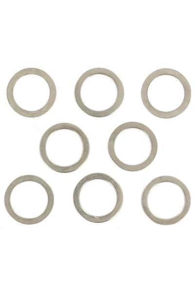 Shortys Standard 8mm Speedrings (silver) 8er Pack