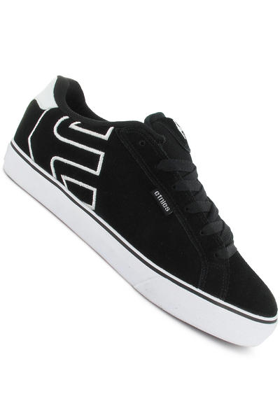 Etnies Fader Vulc Suede Schuh (black white)