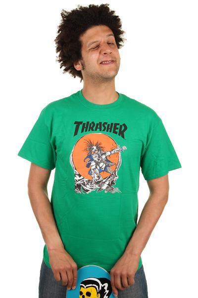 Thrasher Sk8 Outlaw T-Shirt (green)
