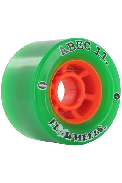 ABEC 11 Flywheels 76mm 78A Rollen (green) 4er Pack
