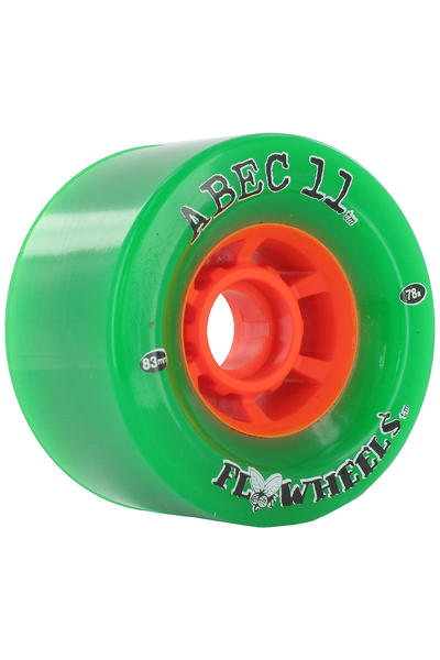 ABEC 11 Flywheels 83mm 78a Rollen (green) 4er Pack