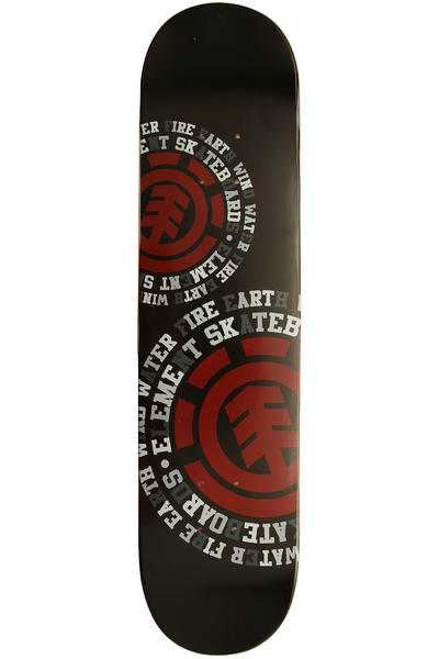 "Element Team Dispersion 7.625"" Deck (black red)"