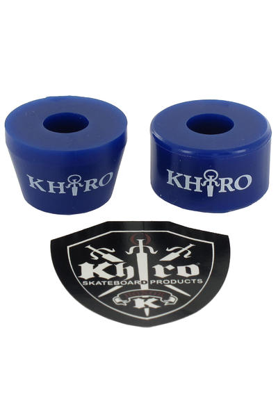 Khiro 85A Tall Cone Combo Bushings (blue)